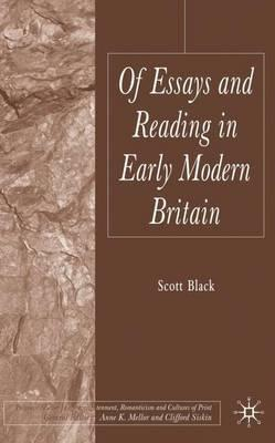 Of essays and reading in early modern