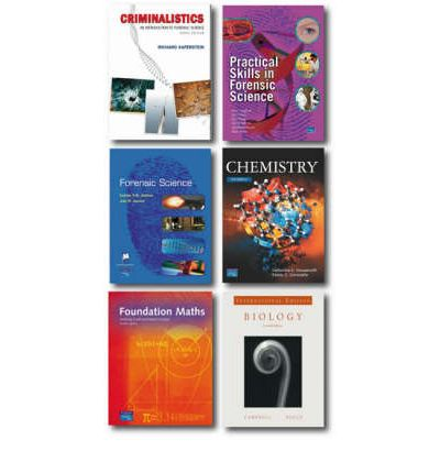 Criminalistics: WITH Practical Skills in Forensic Science AND Forensic Science AND Chemistry, an Introduction to Organic, Inorganic and Physical Chemistry AND Foundation Maths AND Biology