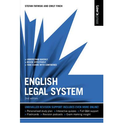 the english legal system essay