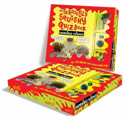 Squishy Quiz : The Seriously Squishy Quiz Book Pack : Nick Arnold : 9781407105185