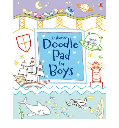 Usborne Doodle Pad for Boys