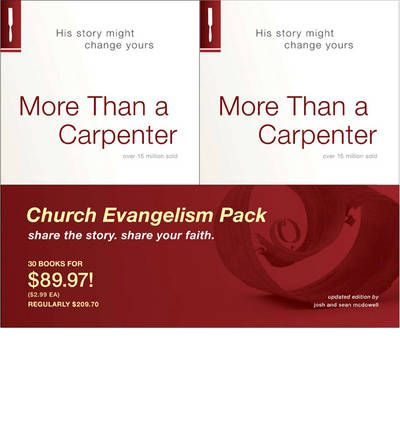 """more than a carpenter book report The mcdowell's, father and son, have updated the original 1977 version of josh mcdowell's more than a carpenter they express the desire that """"this book will have a transformational impact on a new generation of people on a quest for spiritual clarity""""."""