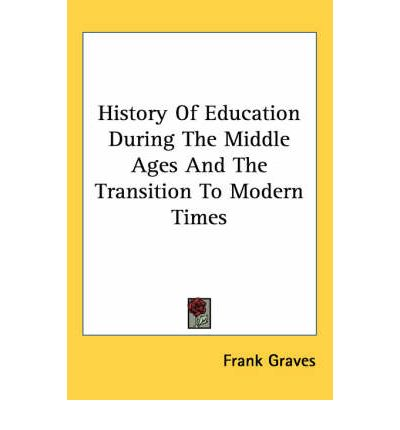 education of the middle ages As a leading organization advocating for teaching the middle ages, it is important   or other forms of bigotry in higher education, medieval studies or otherwise.