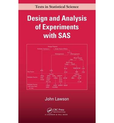 Design and Analysis of Experiments with SAS