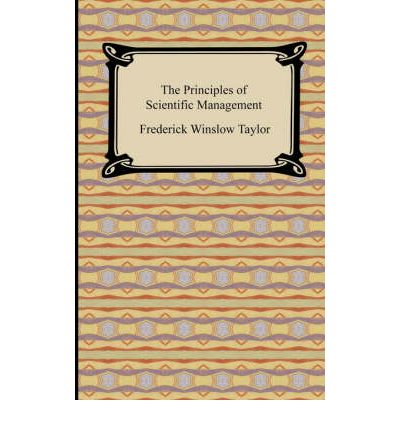 an analysis of principles of scientific management This paper is an overview of four important areas of management theory: frederick taylor's scientific management, elton mayo's hawthorne works experiments and the human relations movement, max weber's idealized bureaucracy, and henri fayol's views on administration.