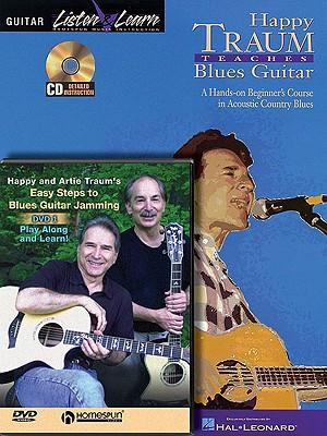 Happy Traum - Blues Guitar Bundle Pack : Happy Traum Teaches Blues Guitar (Book/CD Pack) with Easy Steps to Blues Guitar Jamming (DVD)