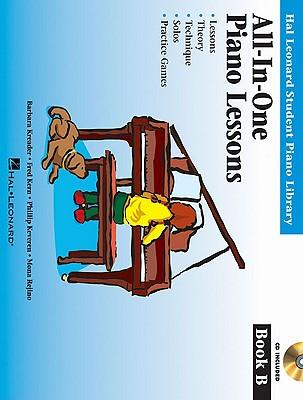All-In-One Piano Lessons, Book B