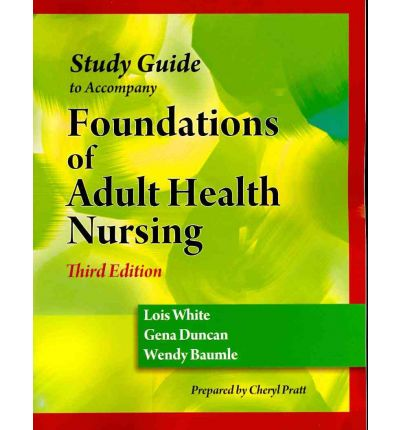 adult health study guide Together with the textbook, the study guide for foundations and adult health nursing, 6th edition will help you gain a solid understanding of the key principles, concepts, and skills you need to succeed in your nursing education and career new nclex&ogra.