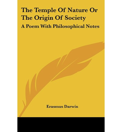 Gute pdf-Bücher kostenlos herunterladen The Temple of Nature or the Origin of Society : A Poem with Philosophical Notes by Erasmus Darwin PDF iBook