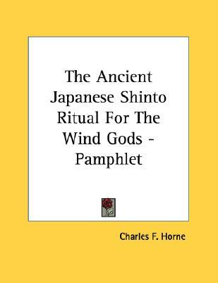 The Ancient Japanese Shinto Ritual for the Wind Gods - Pamphlet