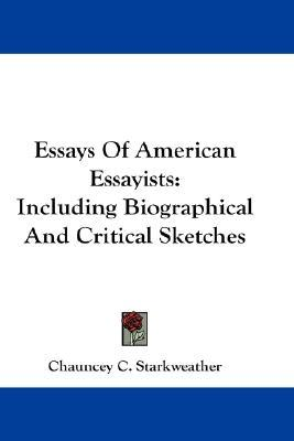 Essays and essayists