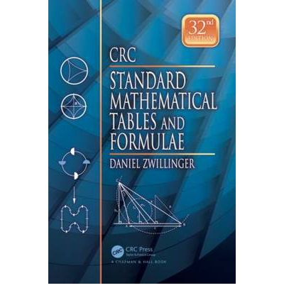 crc standard mathematical tables and formulae 32nd edition pdf