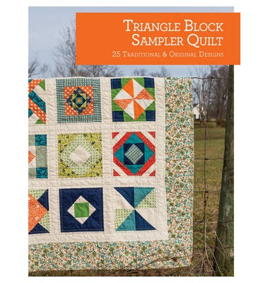 Triangle Block Sampler Quilt