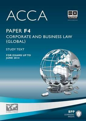 Acca f4 corporate and business law eng