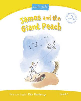 Penguin Kids 6 James and the Giant Peach (Dahl) Reader