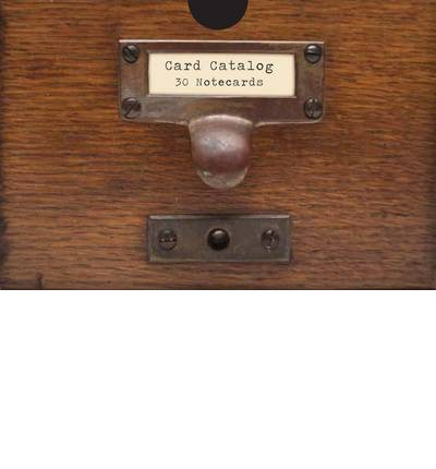 Card Catalog: 30 Notecards: 30 Notecards from the Library of Congress