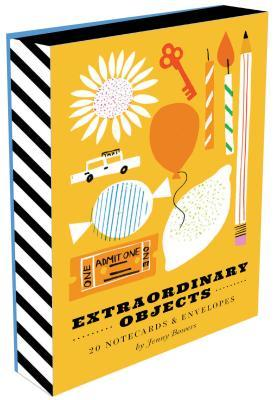 Extraordinary Objects Notes : 20 Different Notecards and Envelopes