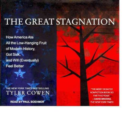 The Great Stagnation (Library Edition) : How America Ate All the Low-Hanging Fruit of Modern History, Got Sick, and Will (Eventually) Feel Better