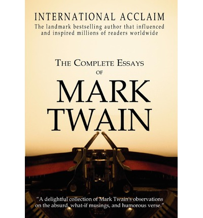 Essays written by mark twain – YZ Solutions