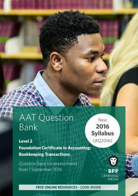 AAT - Bookkeeping Transactions : Question Bank
