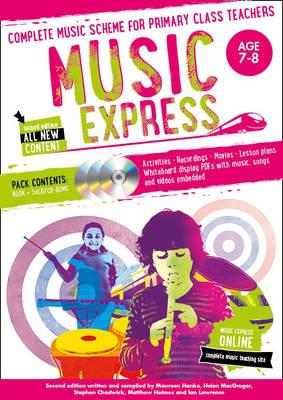 Music Express: Age 7-8: Complete Music Scheme for Primary Class Teachers