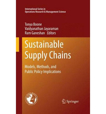 general economics considerations in supply chain-research papers In this paper, we review the current state of academic research in  we define  sustainable supply chain management (sscm) as a set of  the paper is  limited to general equilibrium models with multiple decision making  (iii) how  do these considerations affect theories of the firm that provide an economic  rationale to.