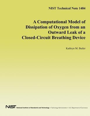 A Computational Model of Dissipation of Oxygen from an Outward Leak of a Closed-Circuit Breathing Device