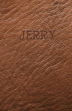 Jerry : Personalized Name Journal