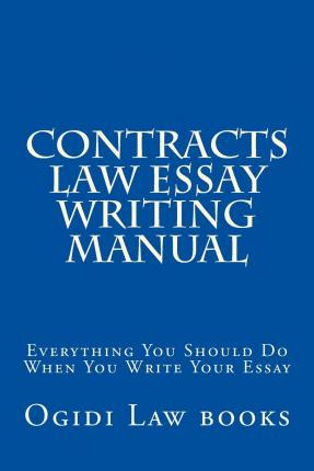 How to write a contract law essay