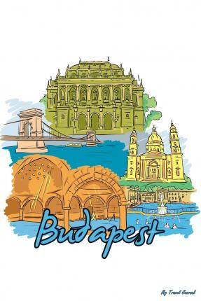 My Travel Journal : Budapest, Travel Planner & Journal, 6 X 9, 139 Pages