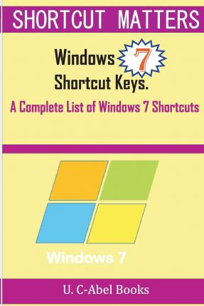 how to find shortcut keys in windows 7