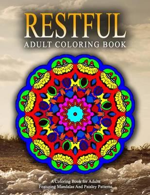Restful Adult Coloring Books - Vol.13 : Relaxation Coloring Books for Adults