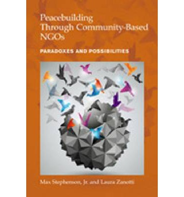 conflict resolution and peacebuilding pdf
