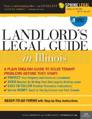 Landlord s legal guide in illinois paperback landlord s legal guide