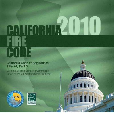 California Fire Code, Title 24 Part 9