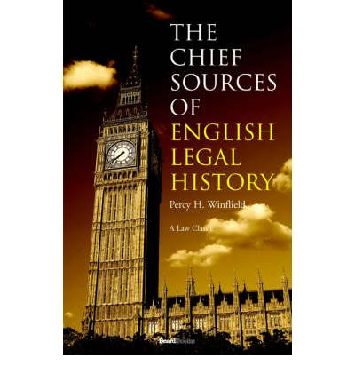 The sources of the english legal