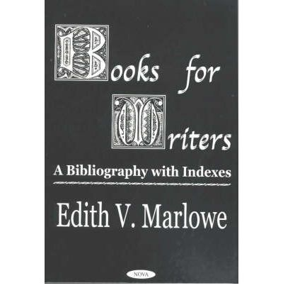 Books for Writers : A Bibliography with Indexes