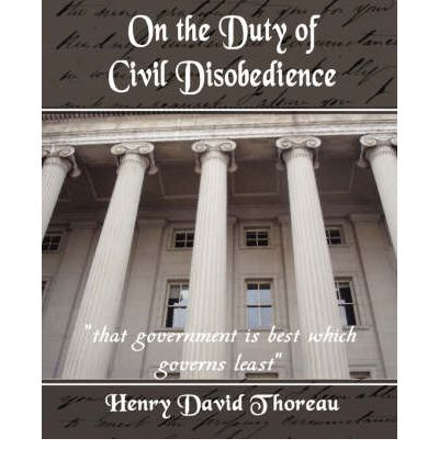 thoreaus civil disobedience essay