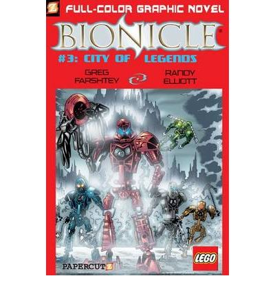 Bionicle: City of Legends No. 3