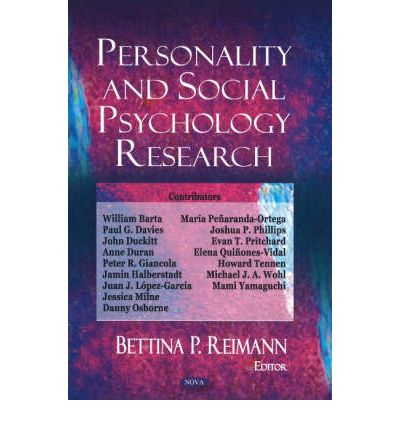 personality and social psychology 72 personality and social psychology bulletin 36(1) likely that individuals' feelings about their homes also shape their everyday fluctuations in stress and mood many studies.