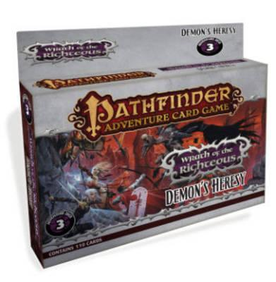 Pathfinder Adventure Card Game: Wrath of the Righteous Adventure Deck 3 - Demon's Heresy: Wrath of the Righteous Adventure - Demon's Heresy Deck 3