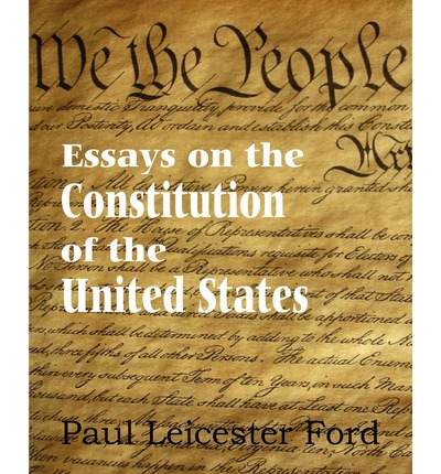 essay on the us constitution