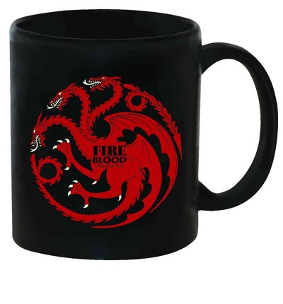 Game of Thrones Targaryen Sigil Mug