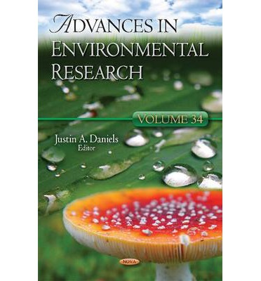 Free audiobook downloads for ipad Advances in Environmental Research: Volume 34 in Finnish iBook by Justin A. Daniels""