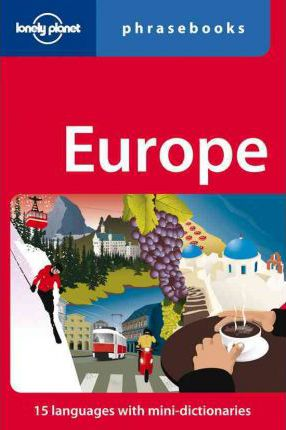 Lonely Planet Europe Phrasebook