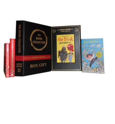 David Walliams Collection: Boy in the Dress, Mr Stink,(hardcover) Billionaire Boy & (hardcover) Gangsta Granny