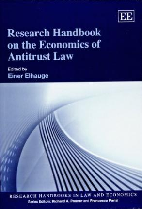 Research Handbook on the Economics of Antitrust Law