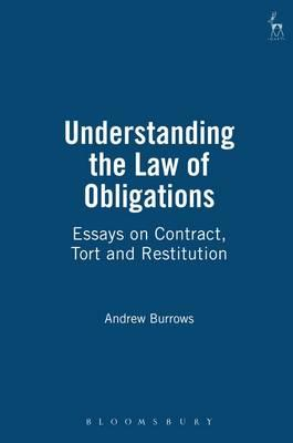 burrows essays law restitution This is not an example of the work written by our professional essay writers the law of restitution the law of restitution is concerned with a burrows, j.