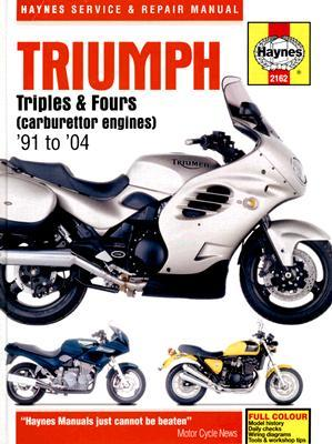 German audio books downloads Triumph Triples and Fours Service and Repair Manual : 1991 to 2004 by Penelope A. Cox, Matthew Coombs PDF DJVU FB2