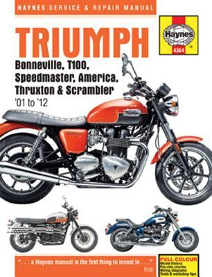 Triumph Bonneville, T100, Speedmaster, America Service and Repair Manual